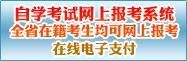 2018上半年黑龙江自学考试网上报名系统